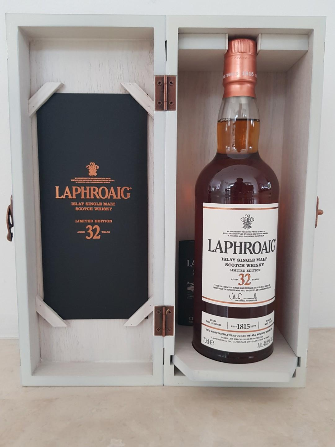 Laphroaig 32 years old Limited Edition. Sherry cask