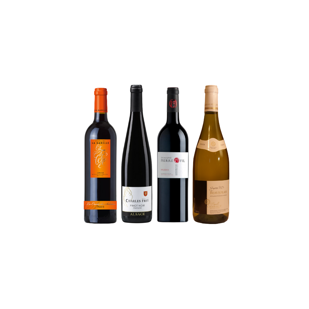 4 Exclusive French Wine With FREE DELIVERY For Only $108