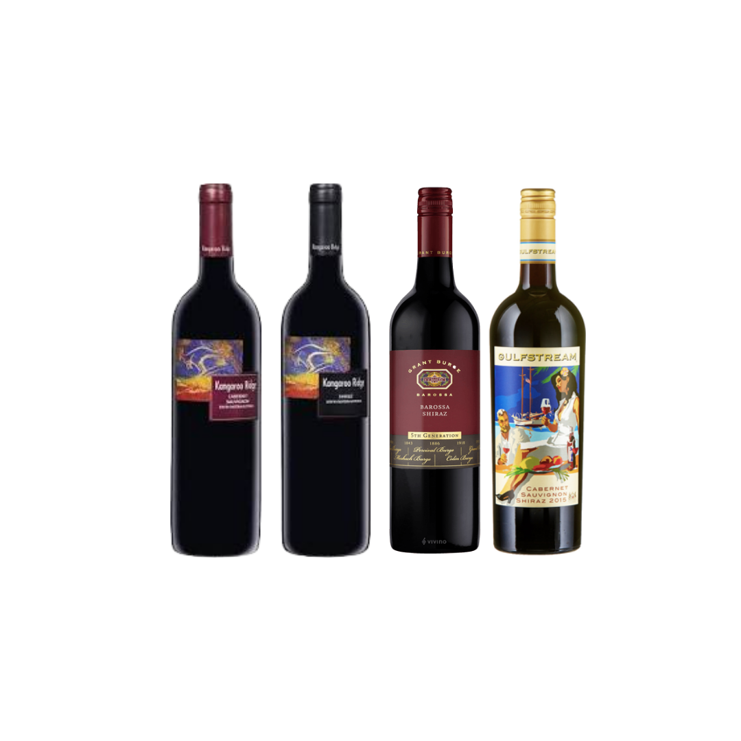 【Value Collection Wine Bundle】4 Bottles of Aussie Wine at Only $108