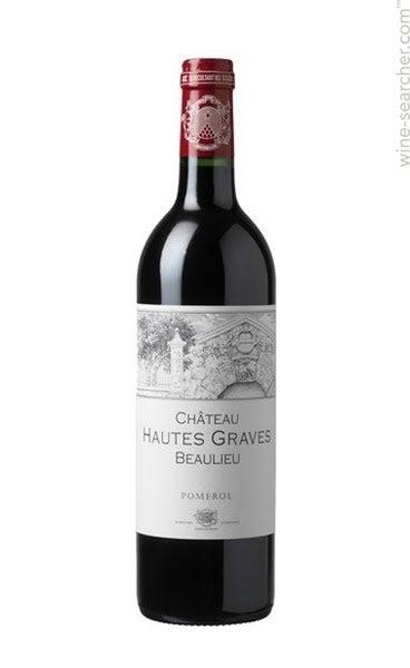 Chateau Hautes Graves Beaulieu Pomerol 2014