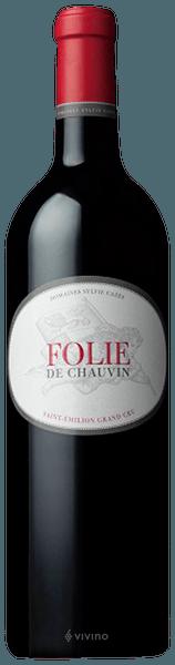 Chateau Chauvin Folie de Chauvin Saint Emilion Grand Cru 2015
