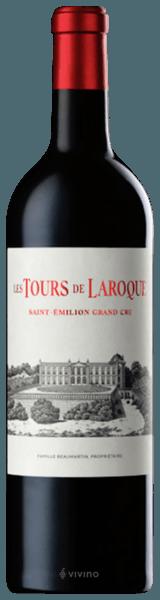 Chateau Laroque Les Tours de Laroque Saint Emilion Grand Cru 2016