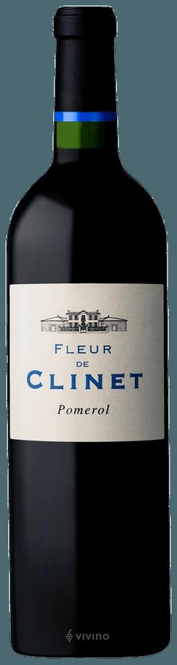 Chateau Clinet Fleur de Clinet Pomerol 2017