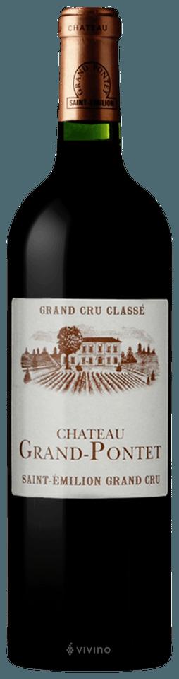 Chateau Grand Pontet Saint Emilion Grand Cru (Grand Cru Classe) 2016