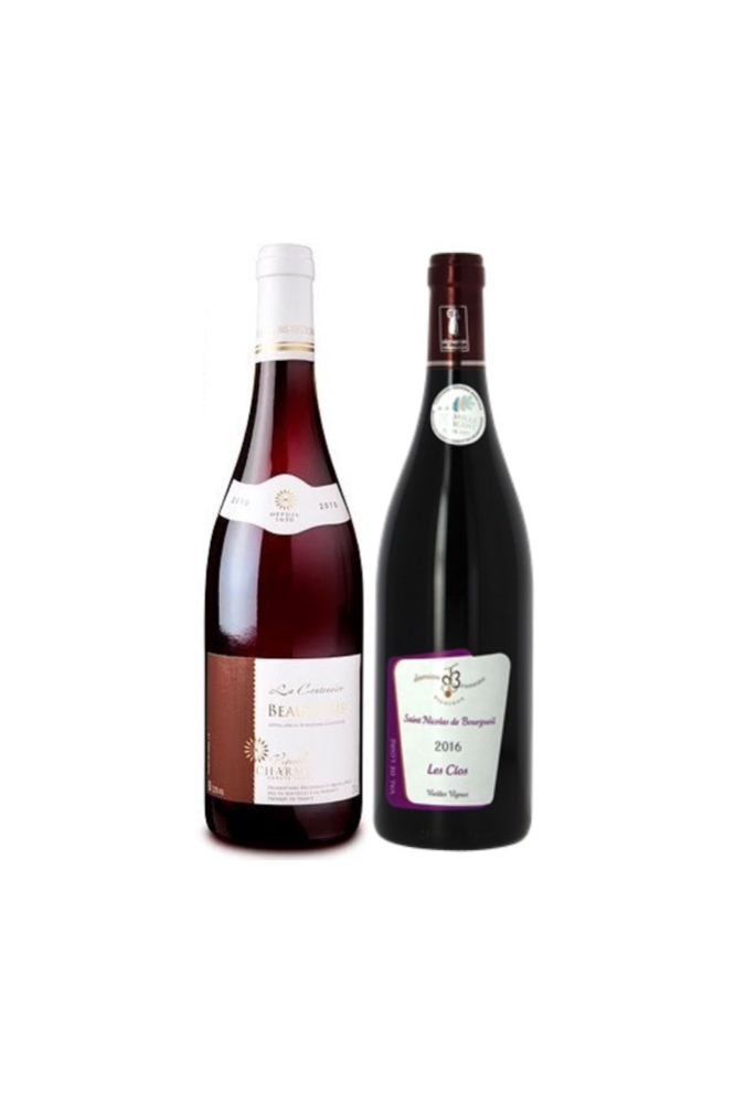 【2 Exclusive French wine at $56】From Burgundy & Loire Valley
