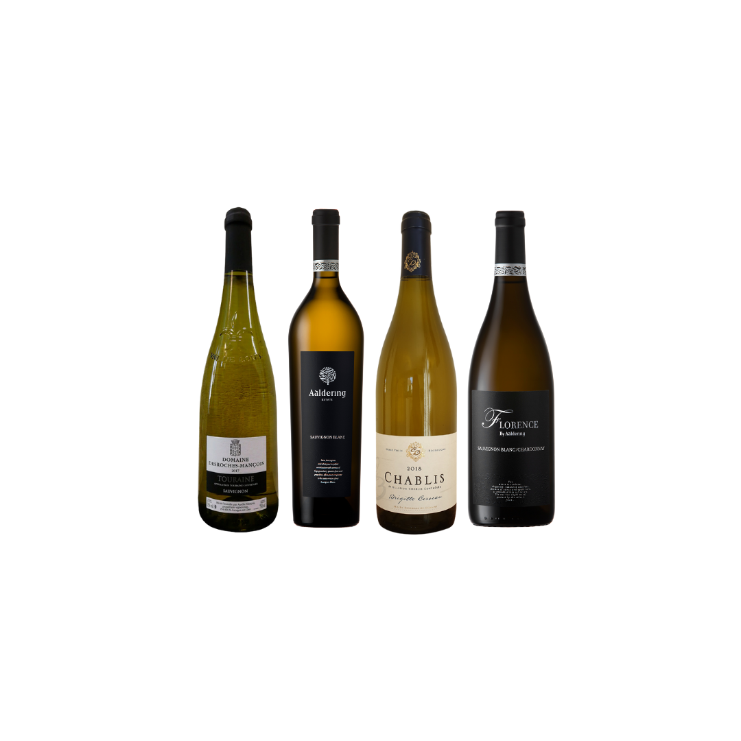 Mix Bundle of French and South-Africa White Wine at Only $108 And Get A FREE bottle worth $42