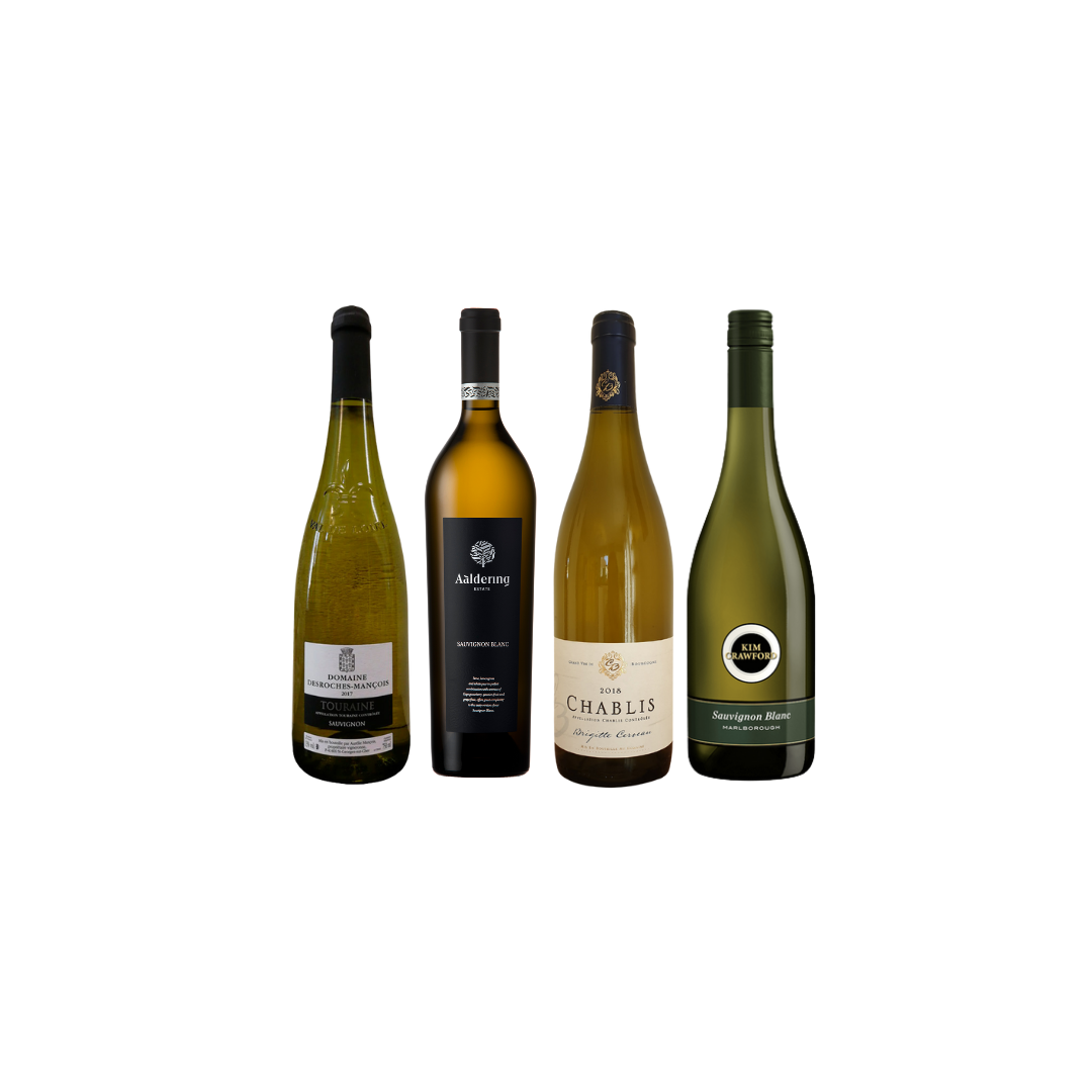 Mix Bundle of French and South-Africa White Wine at Only $108 And Get A FREE bottle of New Zealand White wine worth $32