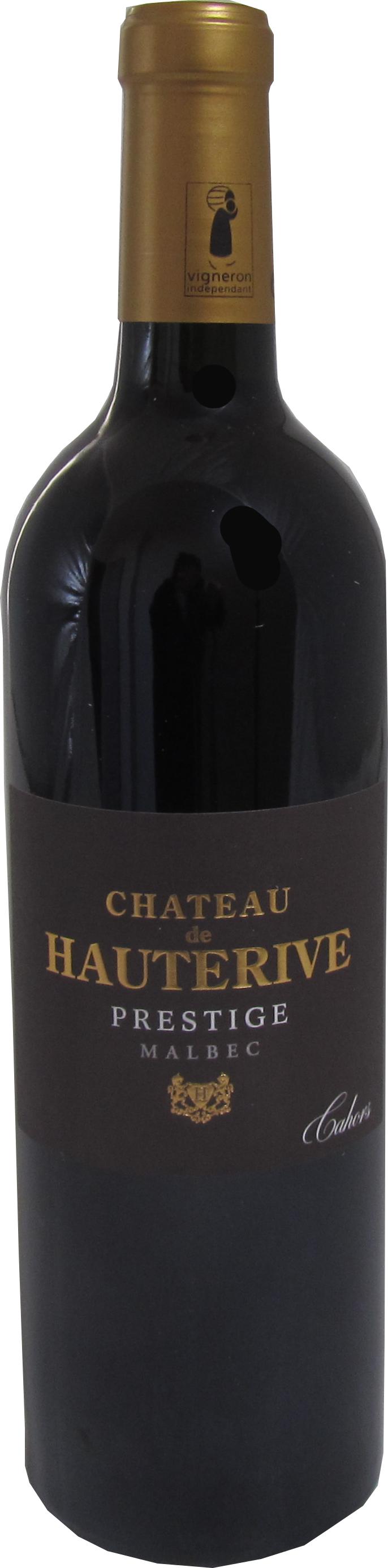 Chateau de Hauterive Cuvee Prestige Cahors 2018