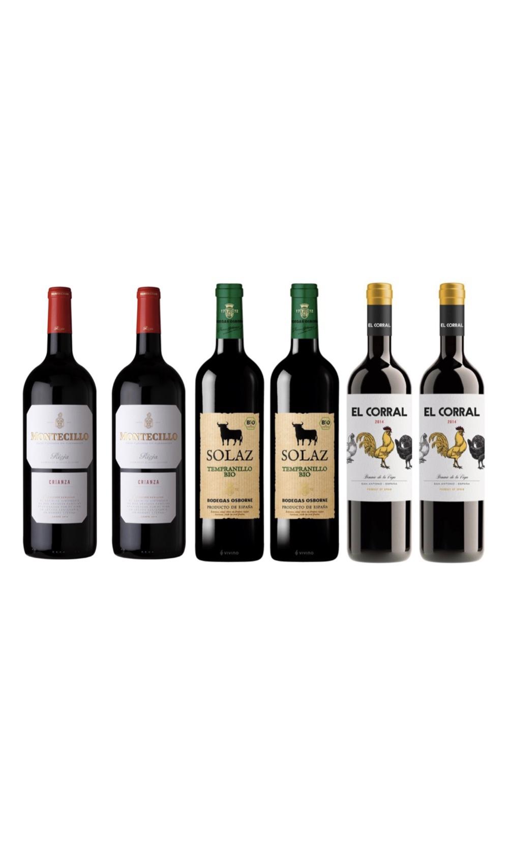 Spanish Wine Tasting Bundle