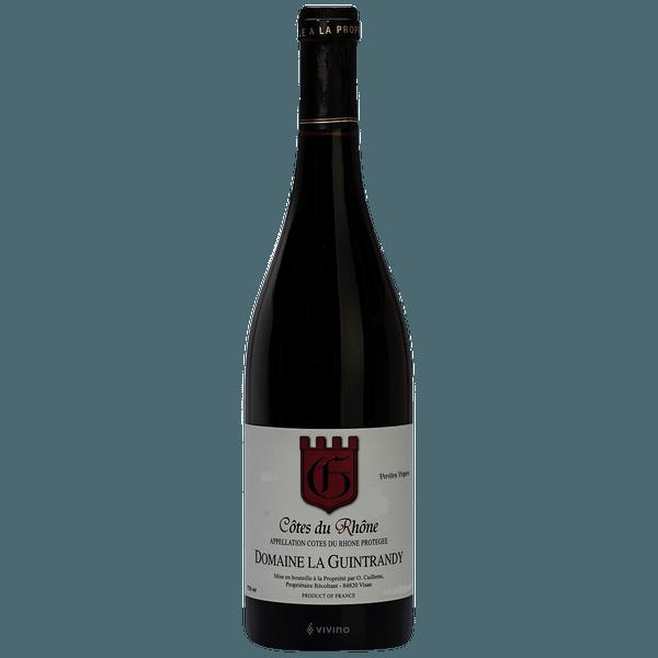 Domaine la Guintrandy AOP Cotes du Rhone Vielles Vignes 2018
