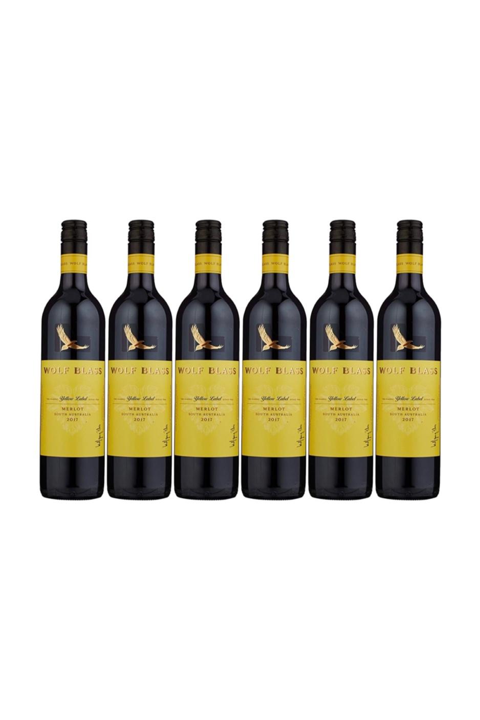 1 Case of Wolf Blass Yellow Label Merlot (6 bottles) with 3 FREE Bottles of KWIRK BELGIUM Craft Beer worth $13.50!