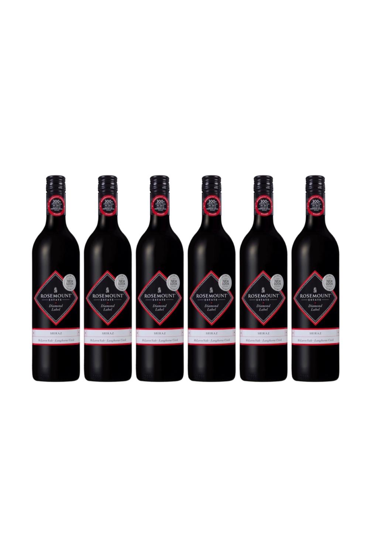 1 Case of Rosemount Diamond Label Shiraz (6 bottles)with 3 FREE Bottles of KWIRK BELGIUM Craft Beer worth $13.50!