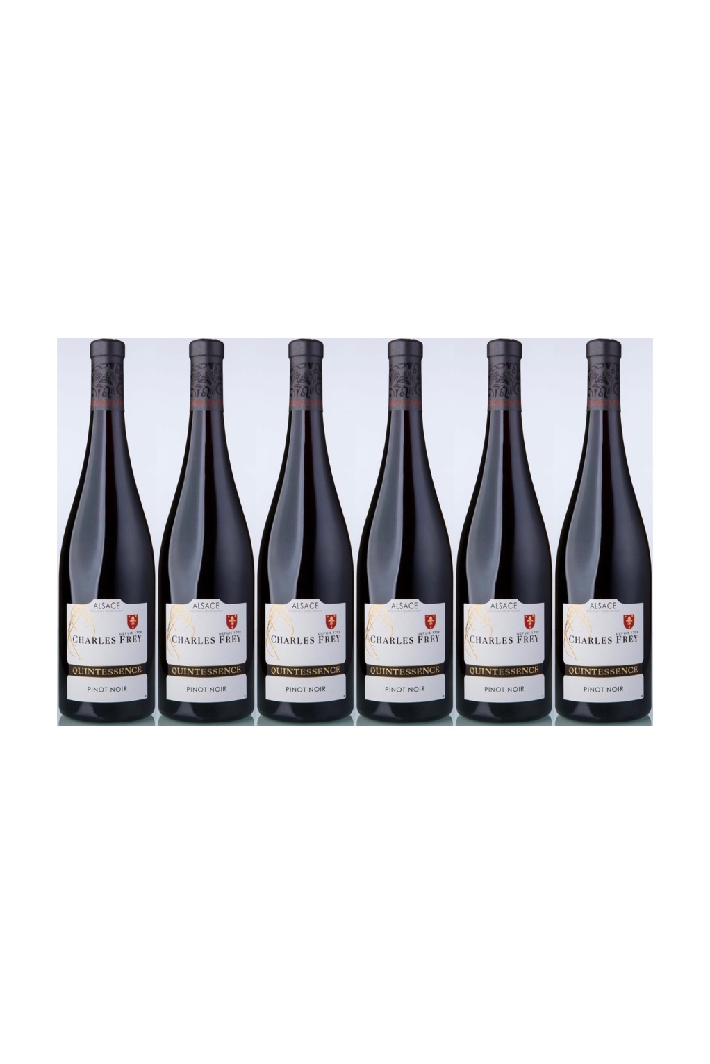 1 Case of Domaine Frey, AOP Alsace Pinot Noir Quintessence, 2016 ( 6 bottles) with 3 FREE Bottles of KWIRK BELGIUM Craft Beer worth $13.50!