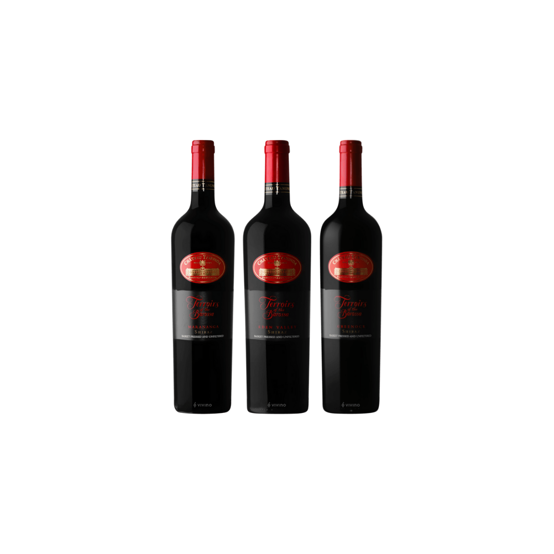 【Indulgence Collection Wine Bundle】3 Bottles of Terroirs Of The Barossa at Only $199