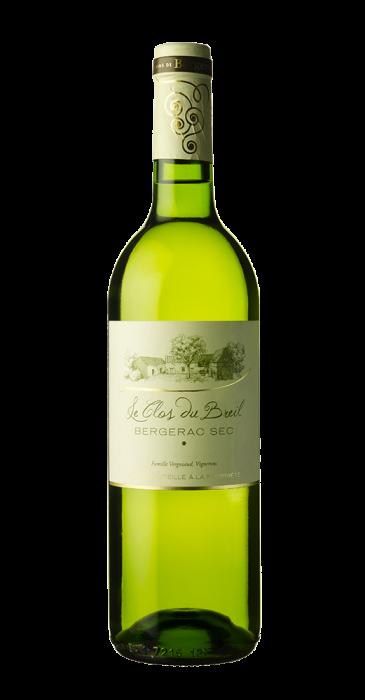 Le Clos Du Breil, AOP Bergerac Sec Blanc 2018