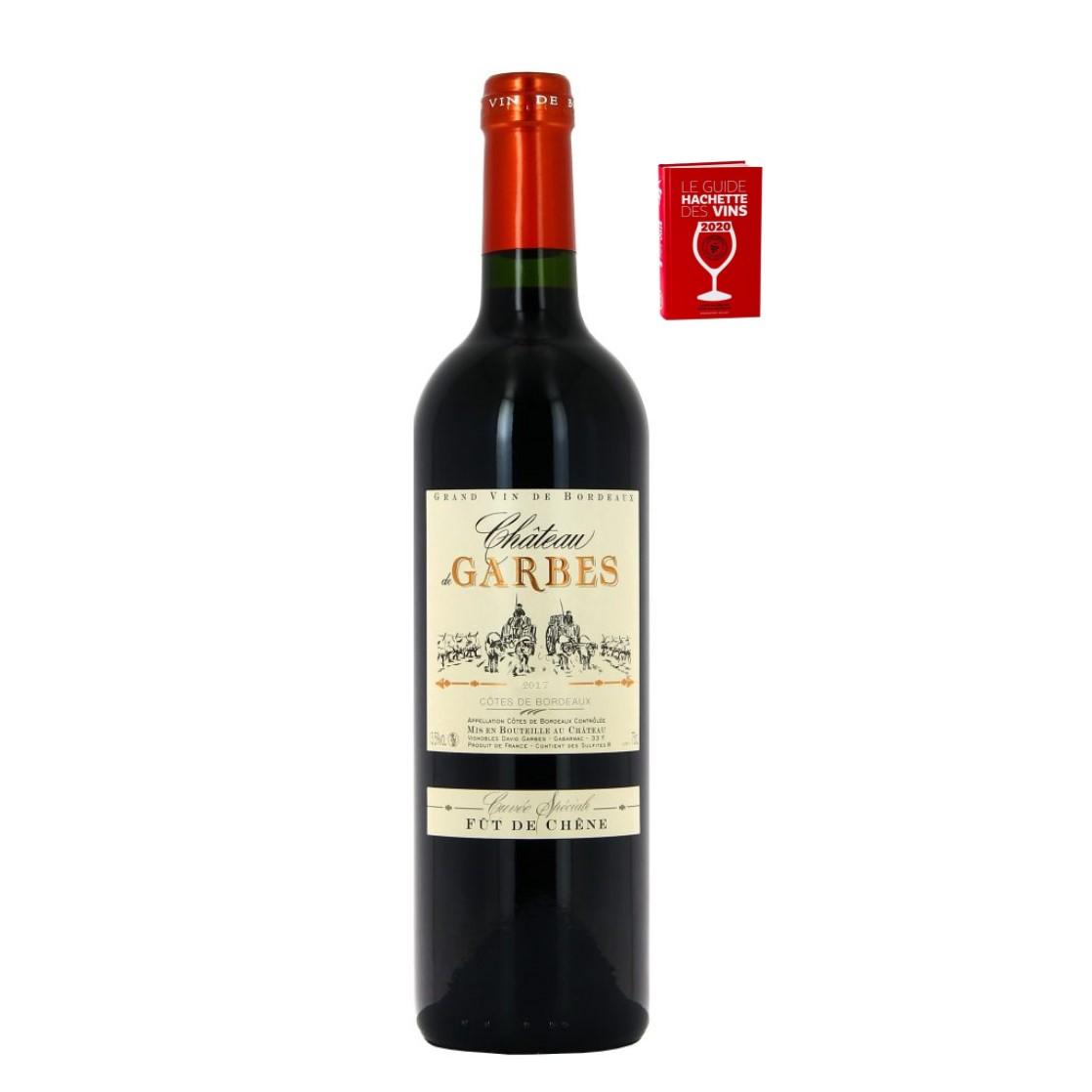 Château de Garbes AOP Cotes de Bordeaux Fut De Chene 2017