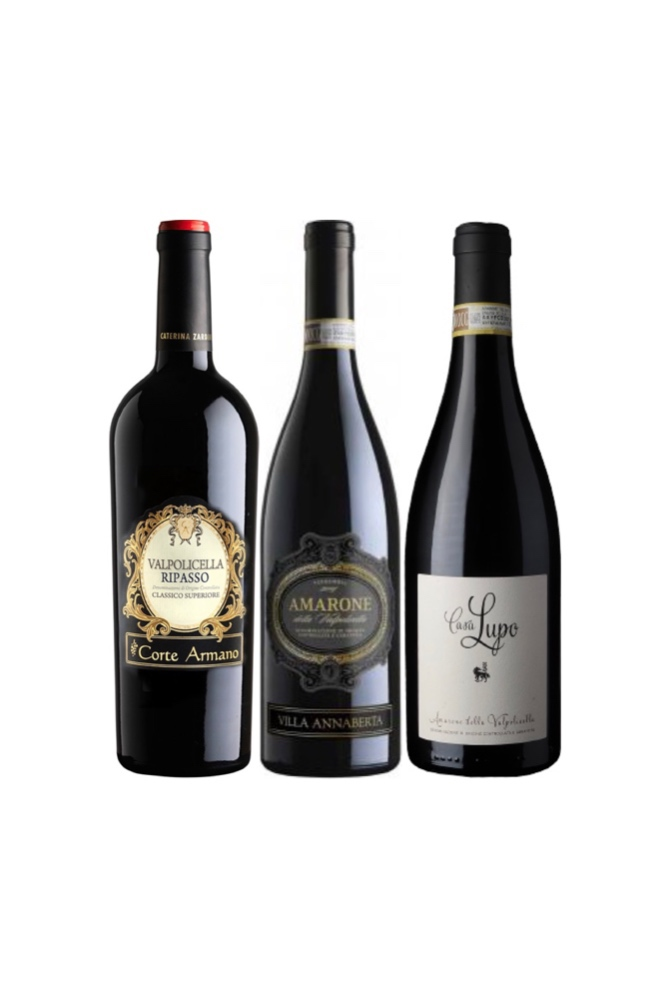 【Amarone Special Sets】Casa Lupo + Villa Annaberta Amarone at only $188 and Free Corte Armano