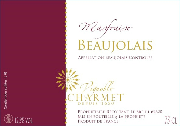 Introduction to French Wine In Beaujolais From Vignoble Charmet