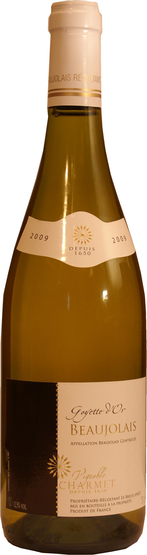 Vignoble Charmet Coteaux Bourguignons Chardonnay Blanc 2018