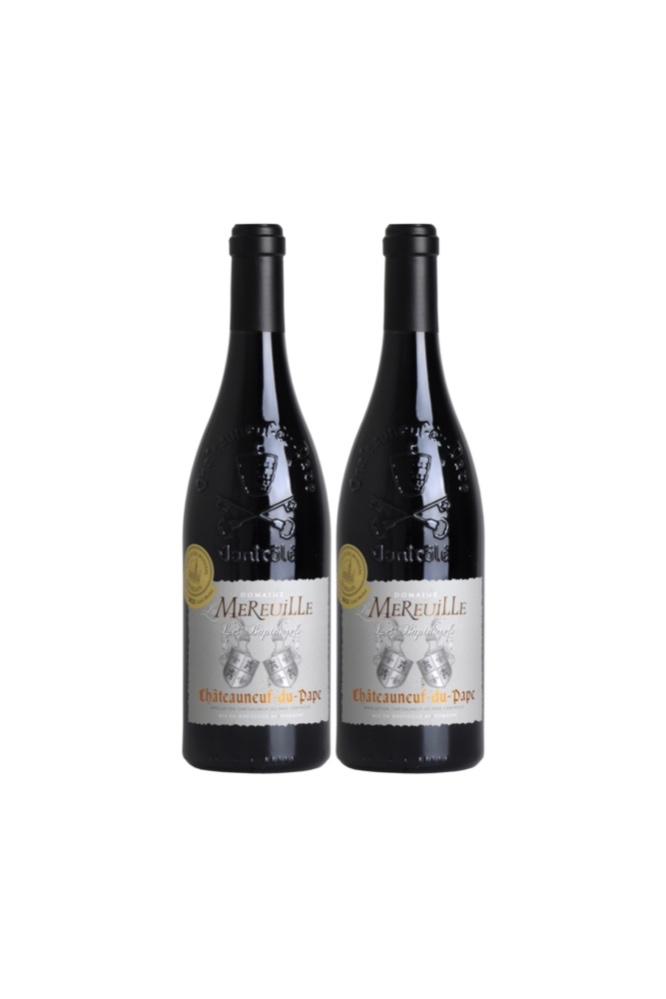 Chateauneuf du Pape Les Baptaurels 2010 And 2011 at Only $178