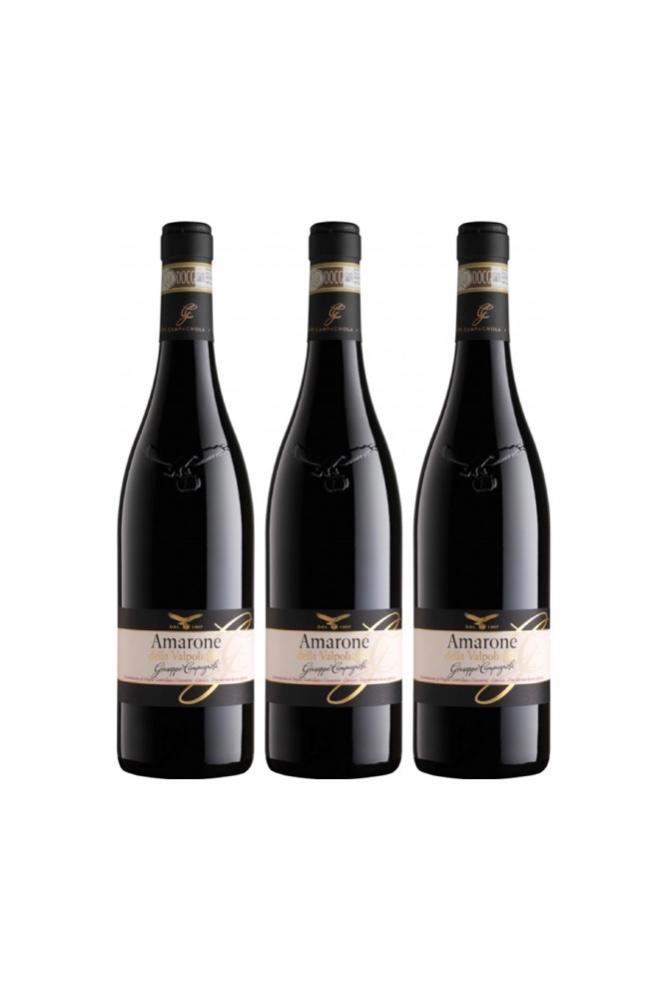 3 Bottles of Campagnola Amarone della Valpolicella Classico 2016 and get Free Set of 6 Wine Glass worth $90