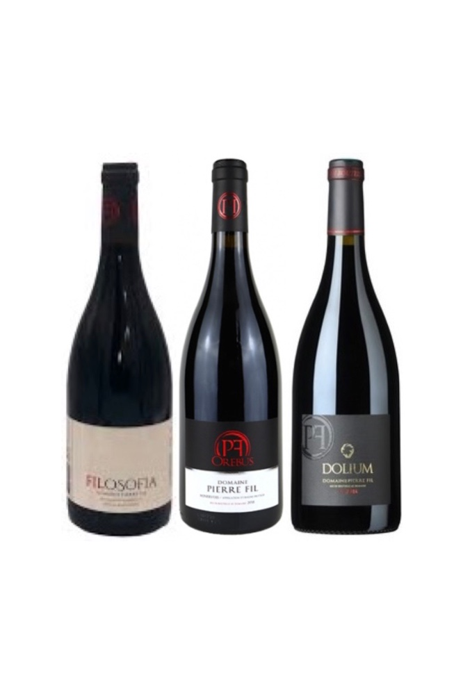 3 Bottles of Domaine Pierre Fil at Only $108