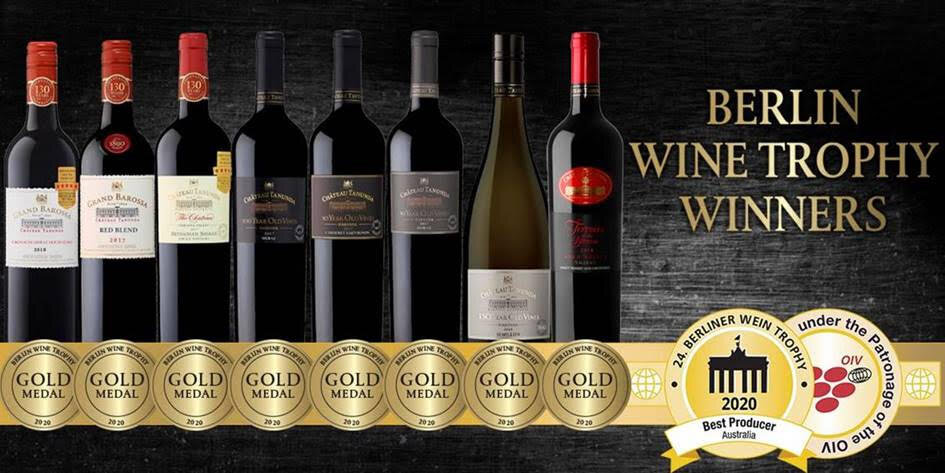 Discover Award Winning Australian Wines Series - 4 Bottles From $108 With FREE Delivery