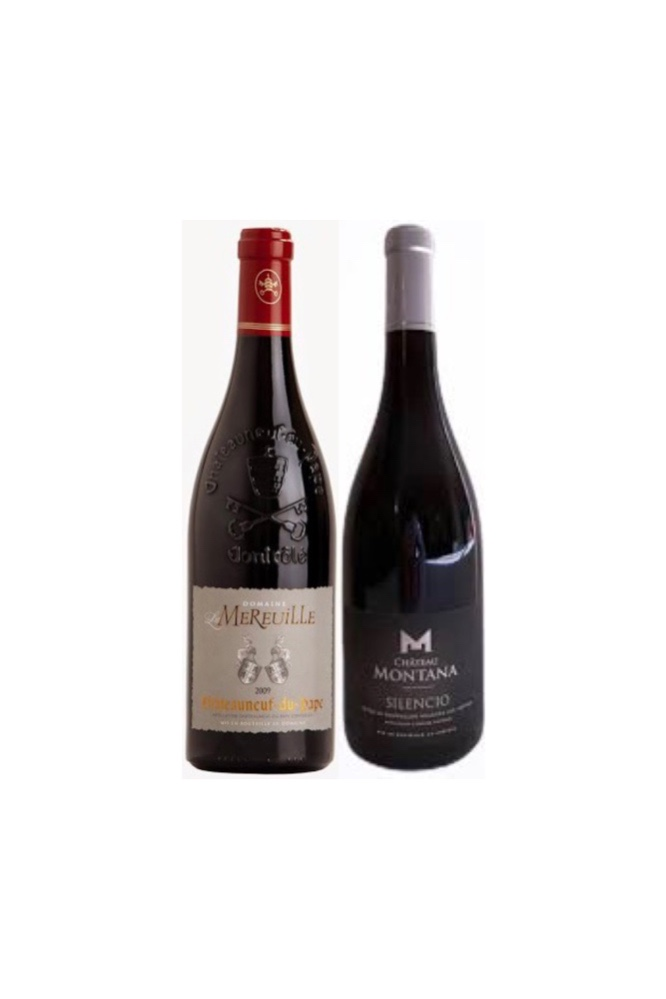 【BEAUTIFUL FRENCH WINE OFFER】Purchase Chateauneuf du Pape and get Free Chateau Montana