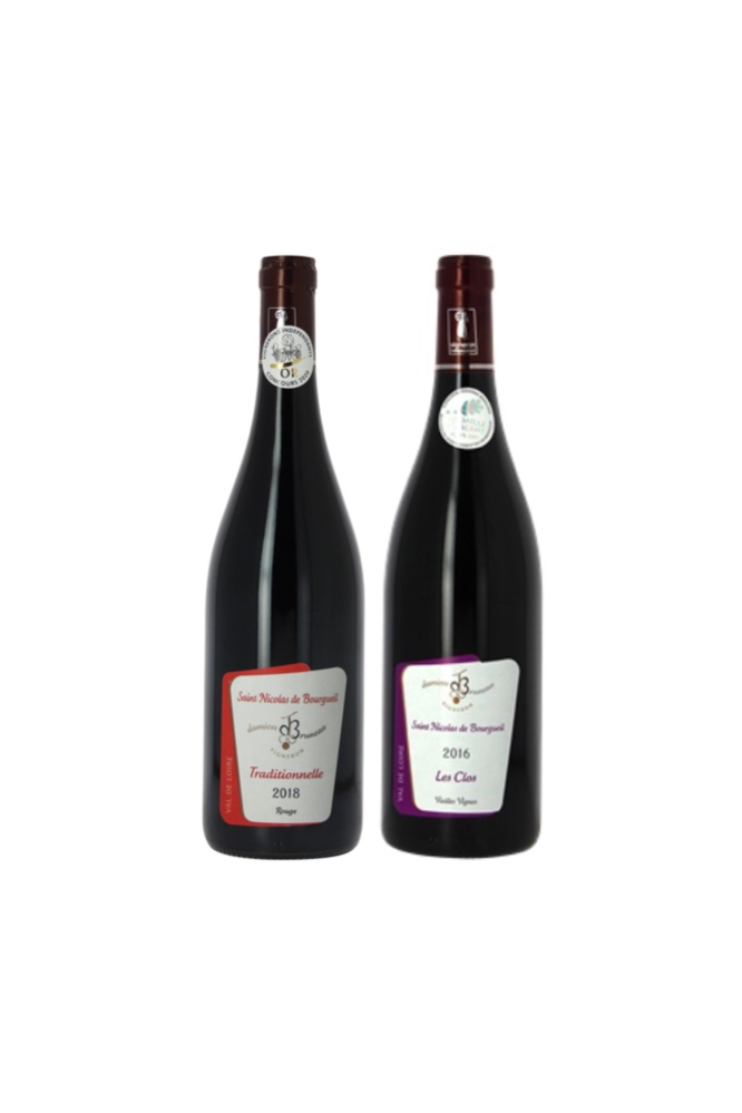 【2 Domaine Bruneau French wine at $52】From Loire Valley