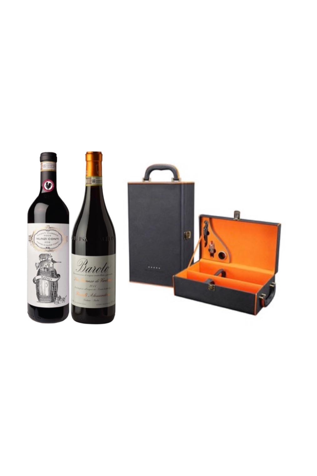 1 Month Italian & Spanish Indulgence Wine Gift Subscription