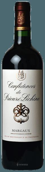 Chateau Prieure-Lichine Confidences de Prieure-Lichine Margaux 2016