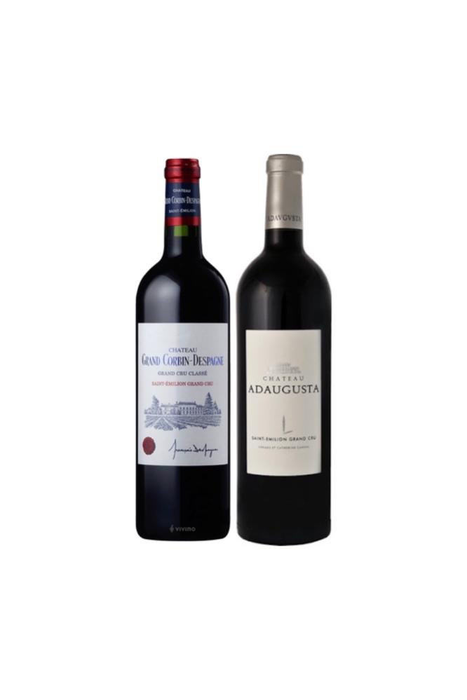 2 bottles of Saint Emilion (Grand Cru Classé) at $138 and get a Free Wala USB Electric Wine Opener