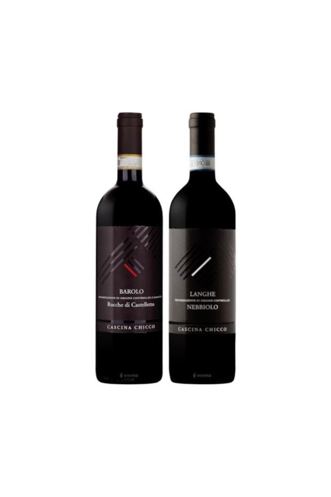2 Bottles of Cascina Chicco Italian wineAt $128