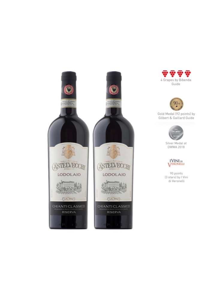 Enjoy 2 bottles of Chianti Classico Riserva DOCG 2016 at Only $99
