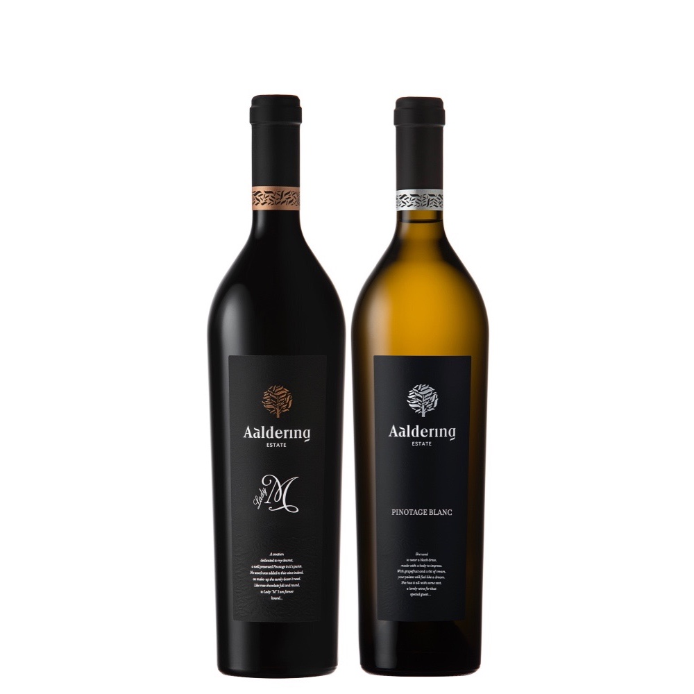 Purchase 2 Bottles of Aaldering (Lady M + Pinotage Blanc) at only $60