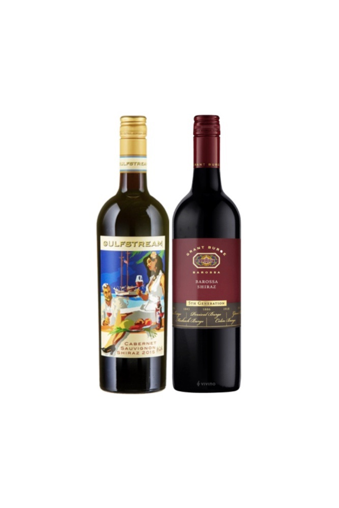New Year Special Offer! Château Tanunda Gulfstream Cabernet Sauvignon Shiraz+ Grant Burge at Only $48
