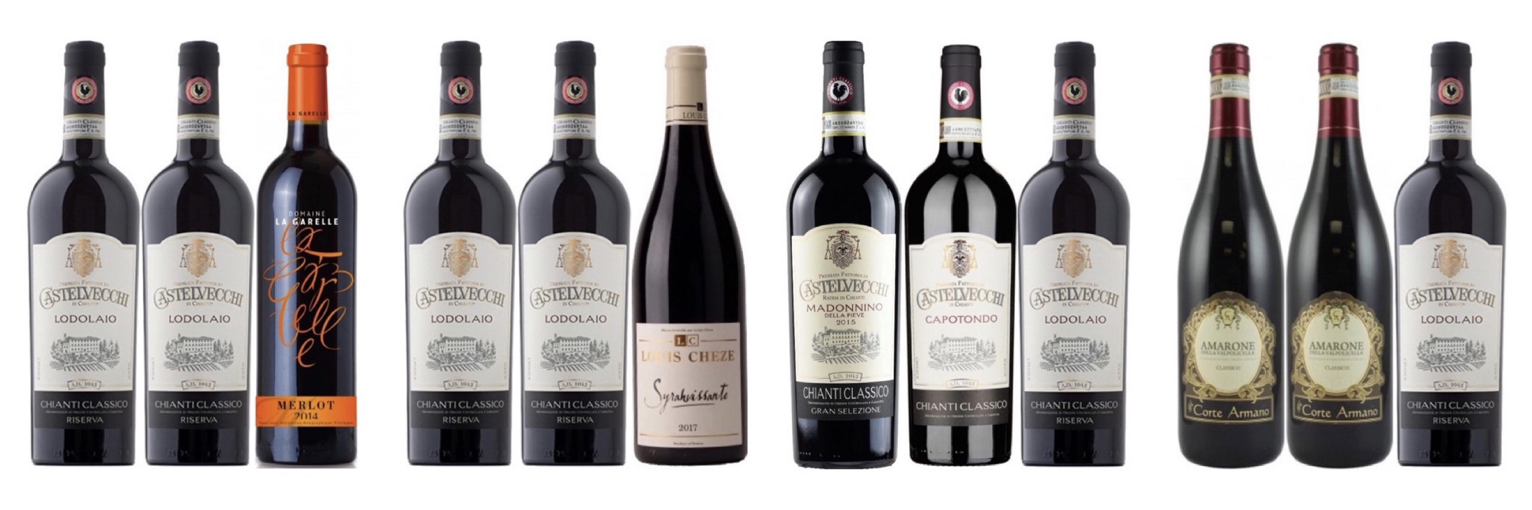 Discover Award Winning Italian wine and Chateauneuf du Pape Offers! Buy 2 and Get 1 Free (worth up to $68) !