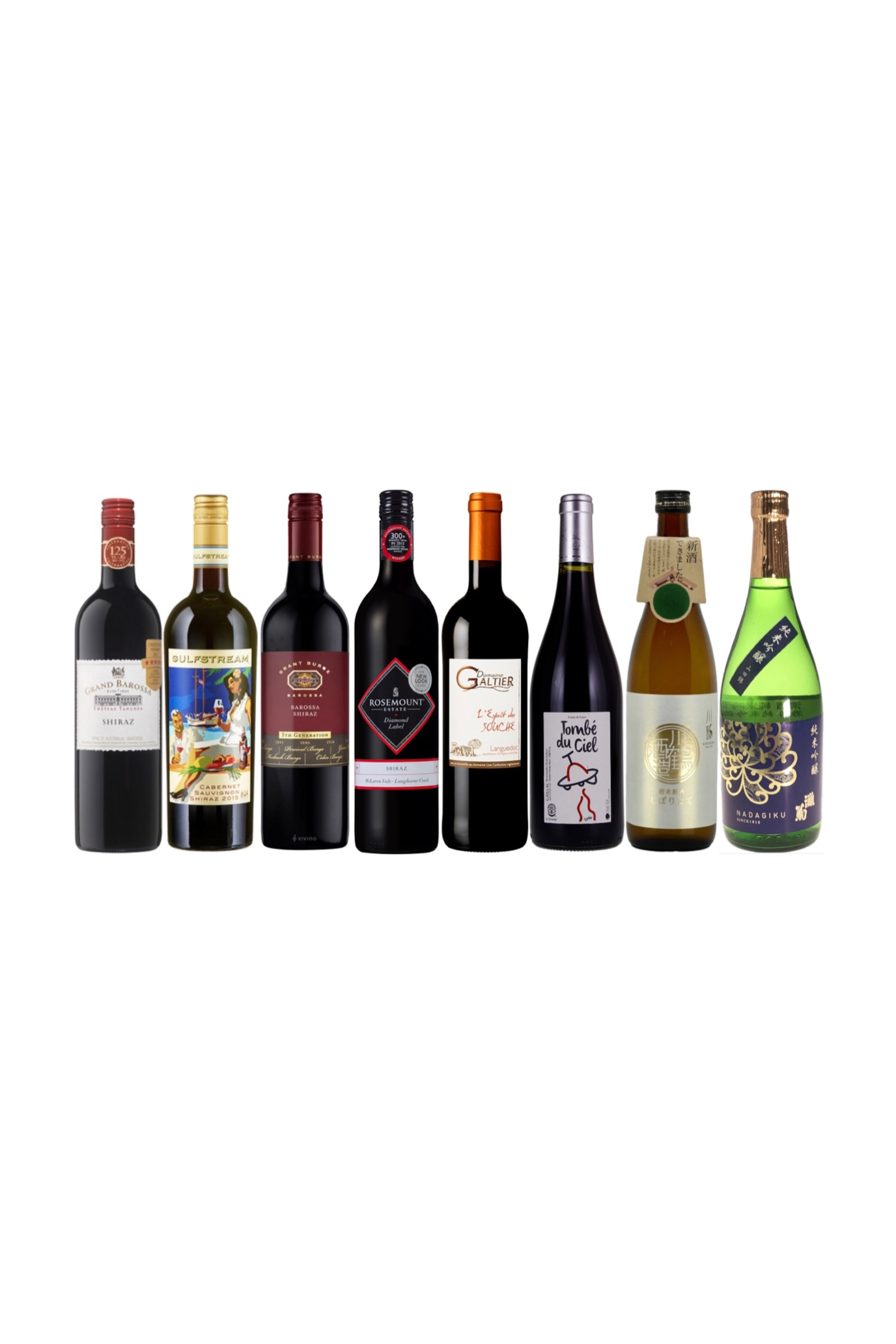 Aussie Sake Bundle Get 2 free French wine