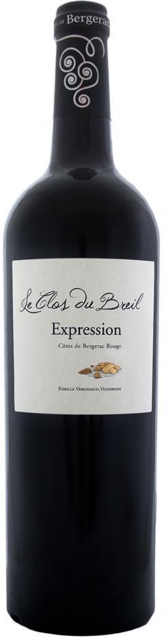 Le Clos Du Breil, AOP Cotes de Bergerac Expression, 2016