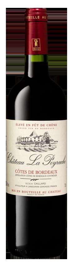 Château la Peyruche AOP Cotes De Bordeaux Fut De Chene 2015