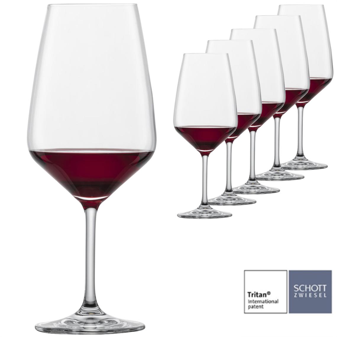 Schott Zwiesel Taste Bordeaux Wine Glass (Set of 6)