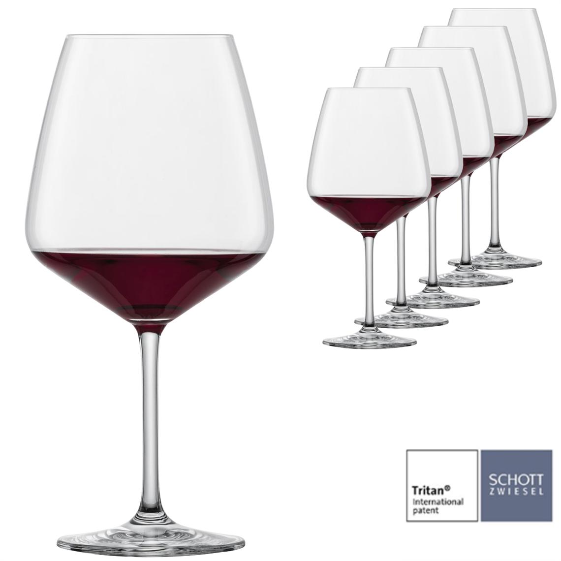 Schott Zwiesel Taste Burgundy Red Wine Glass (Set of 6)