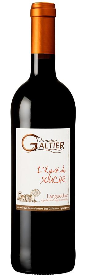 Domaine Galtier AOP Languedoc L'esprit des Souche 2015