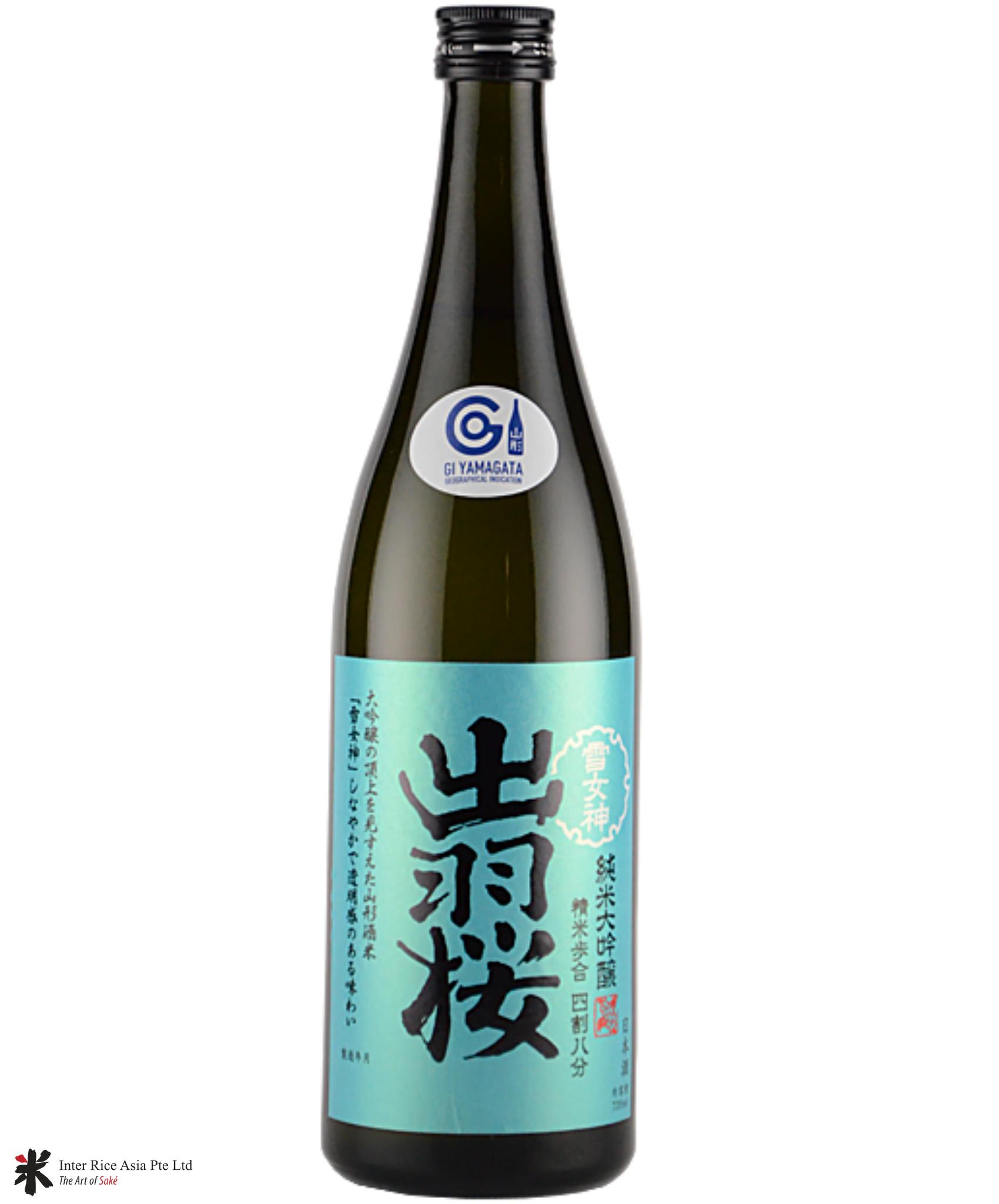 Dewazakura Junmai Daiginjo Yukimegami 48