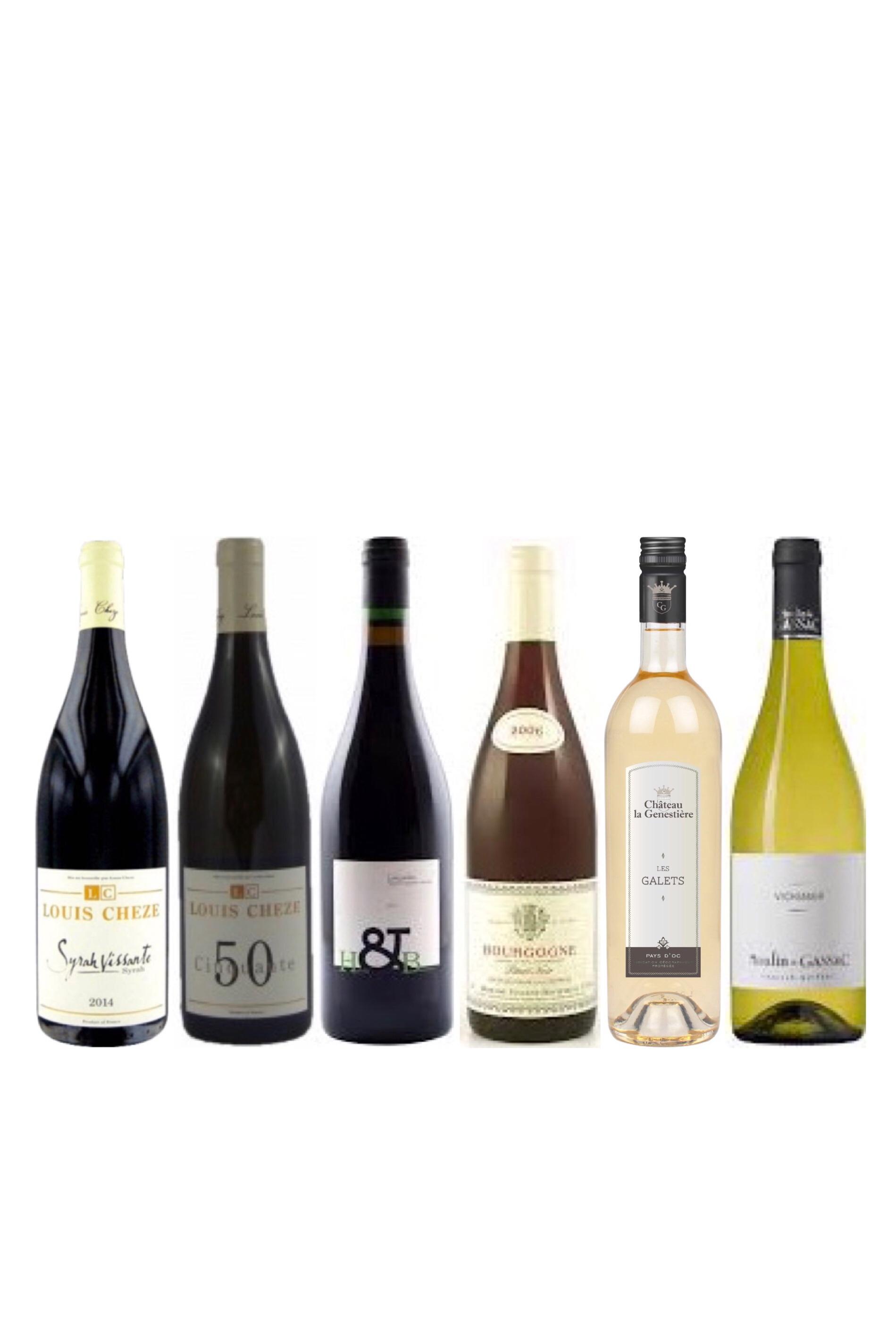 French wine tasting bundle
