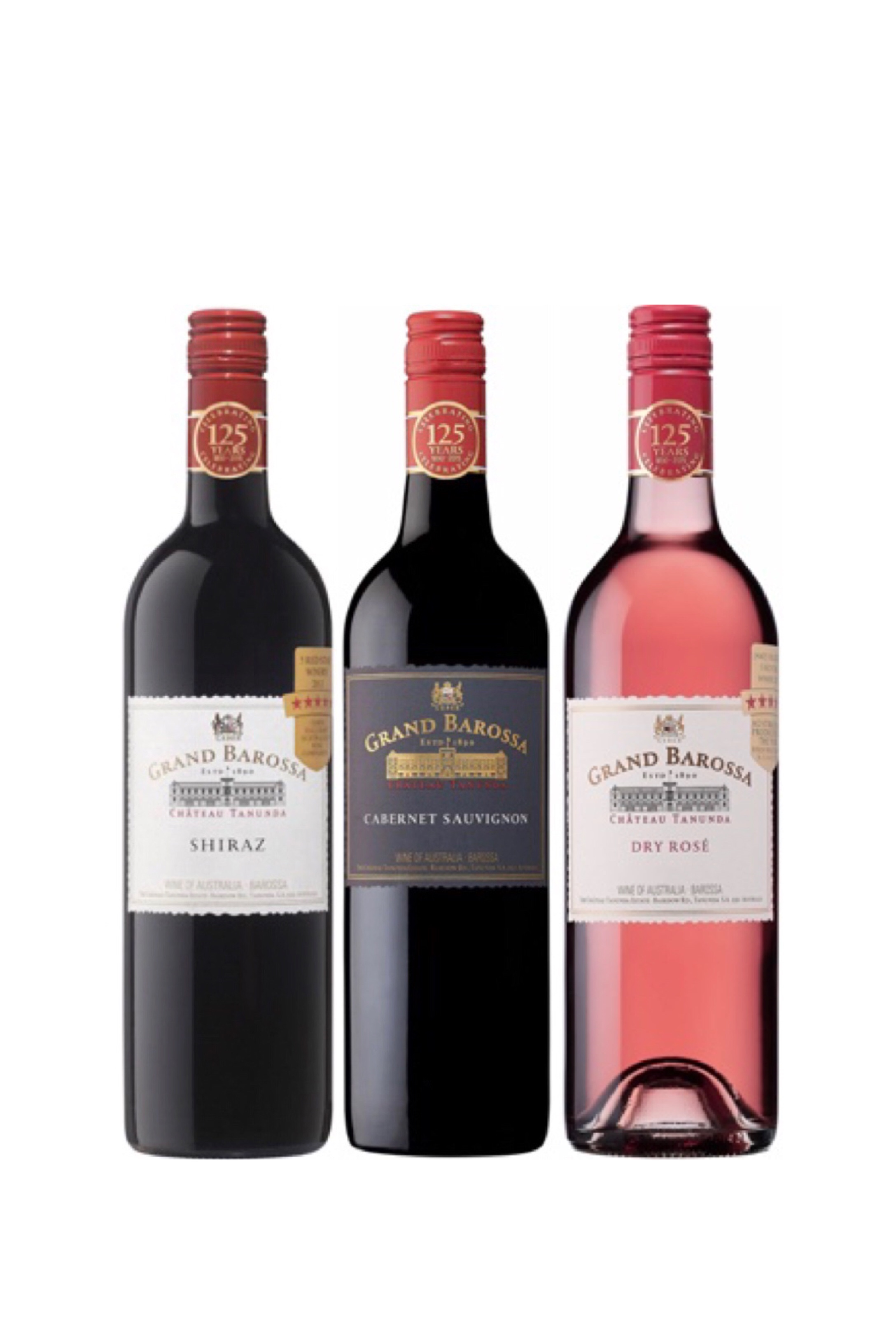Award Winning Grand Barossa Shiraz And Cabernet Sauvignon Bundle Plus One FREE Bottle Of Wine Worth $48