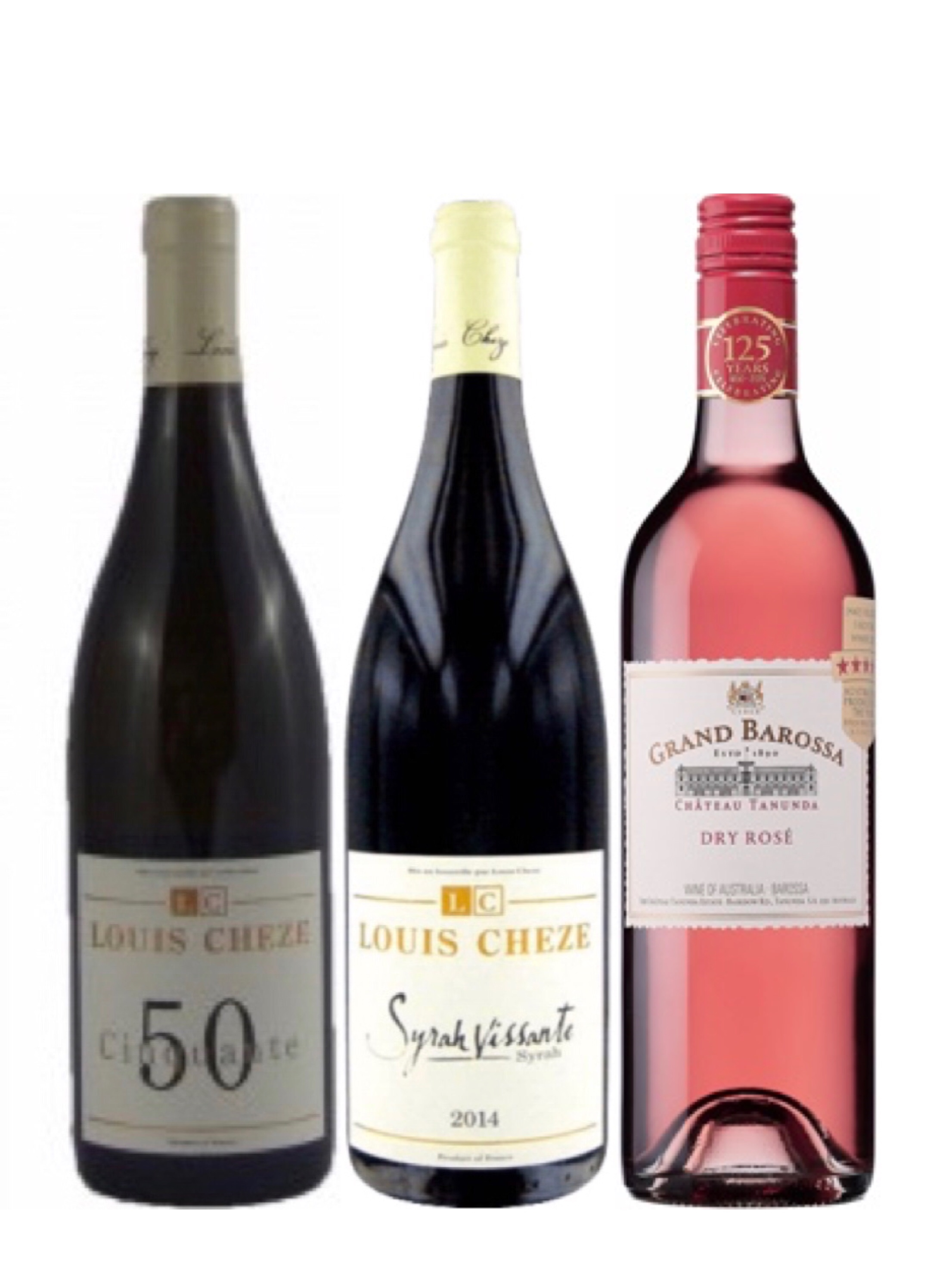 Exclusive French LOUIS CHÈZE Red Wine Bundle Plus One FREE Bottle Of Wine Worth $48