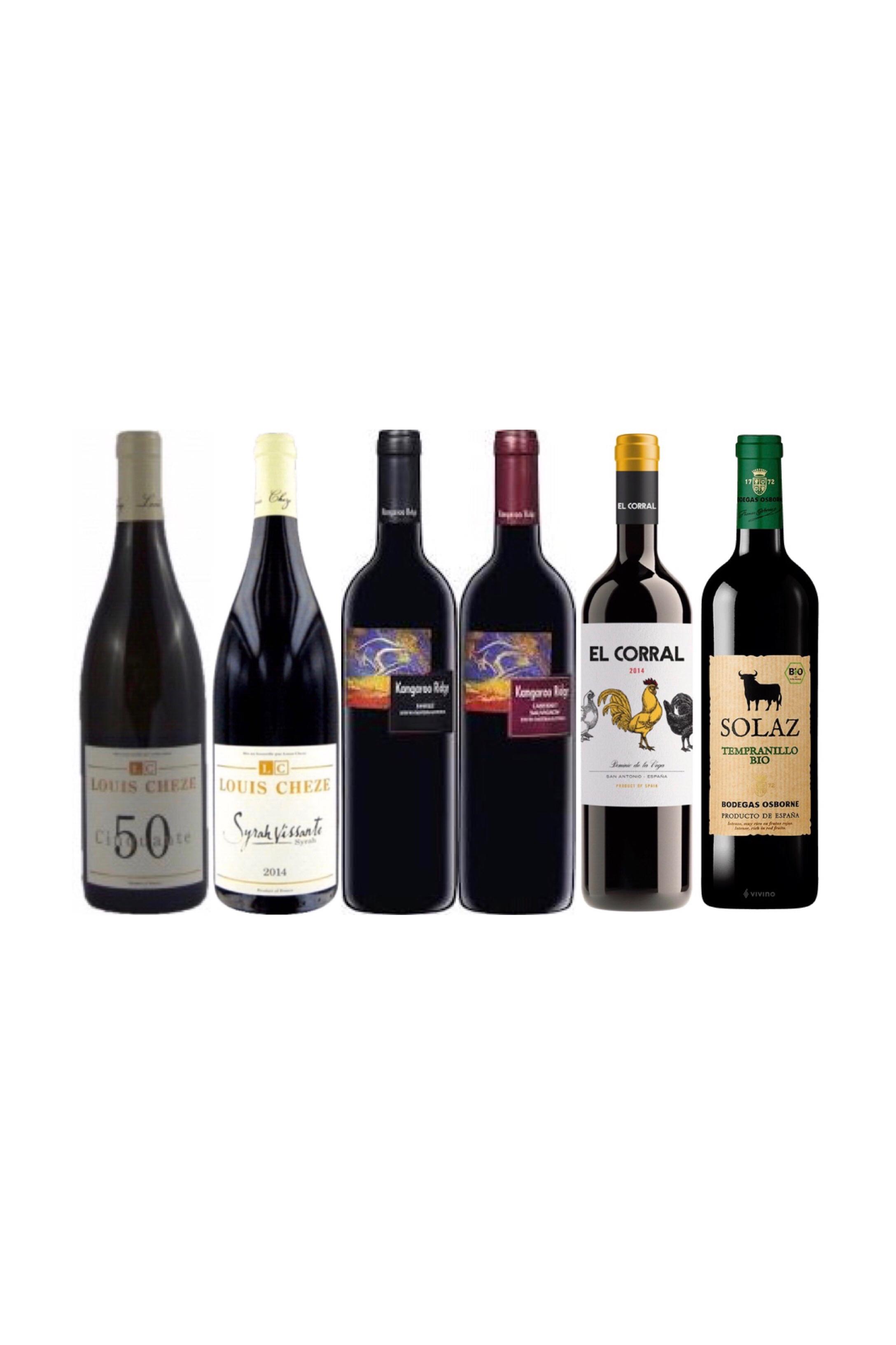 French, Australian and Spanish value bundle