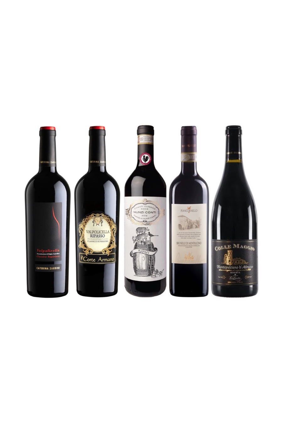 Pick any 4 Premium Italian Red Wine at only $248