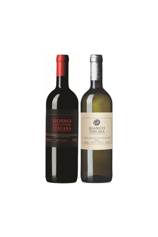 Italian Organic Wine at $88 for 2 bottles!